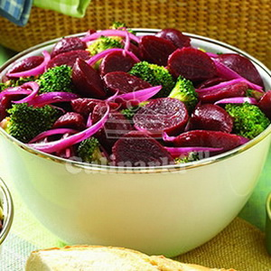 Великий пост: Овощной салат со свеклой