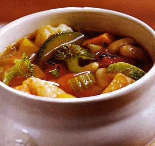 Великий пост: Суп из печеных овощей