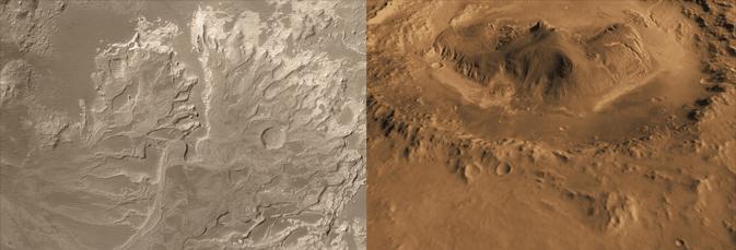 NASA определось с местом высадки марсохода