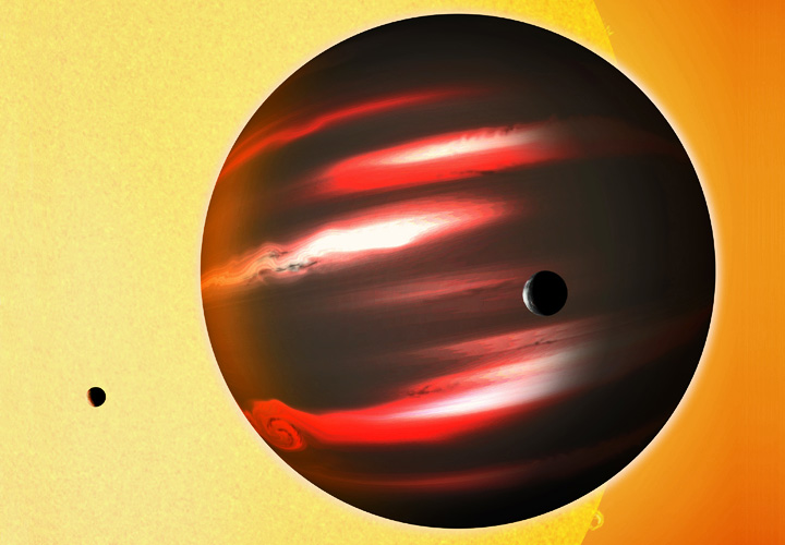 Экзопланеты: Черная планета