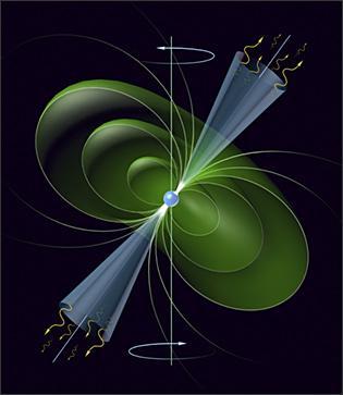 Обнаружен рекордный сбой у пульсара