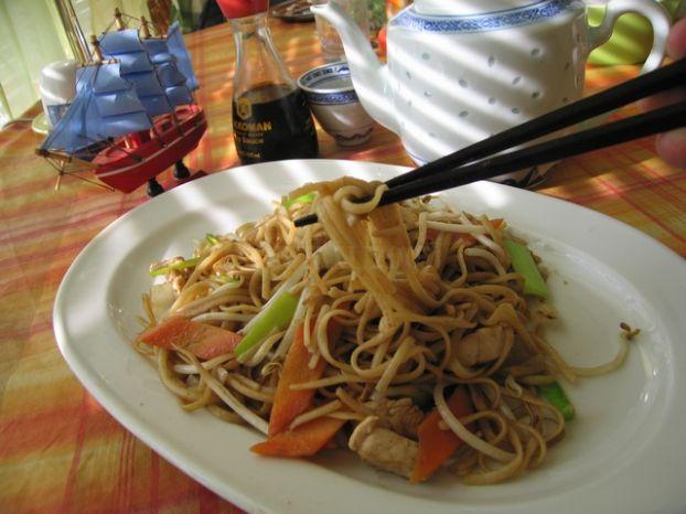 Рецепт рисовой лапши