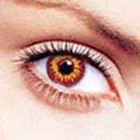 Цветные контактные линзы вызывают слепоту