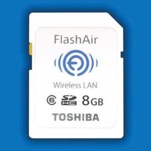 Карта памяти с поддержкой Wi-Fi - Toshiba FlashAir