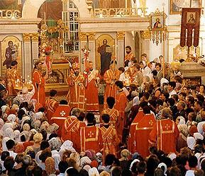 Пасхальные традиции: Пасхальное Богослужение