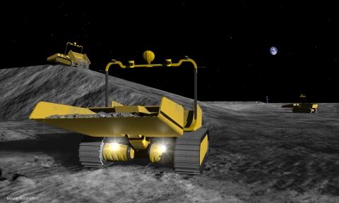 Лунные роботы