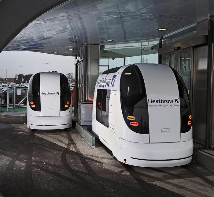 В Лондоне появились беспилотные такси