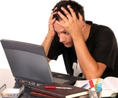Стресс вызывает потерю волос