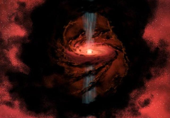 Обнаружена выплёвывающая воду звезда