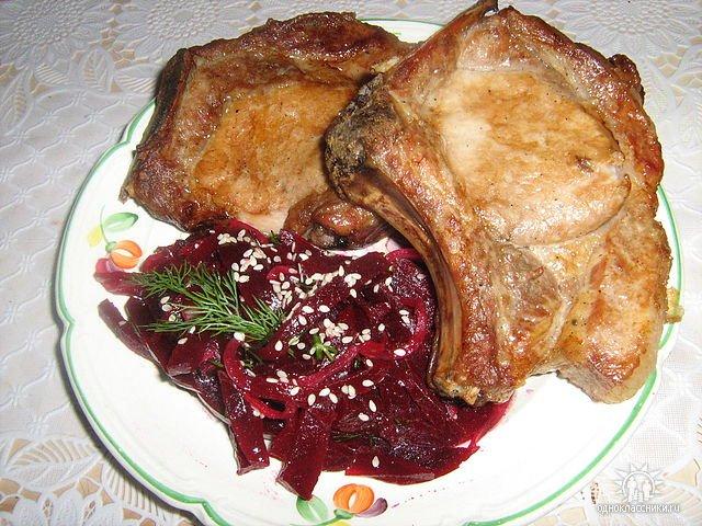 Рецепты из свиной корейки
