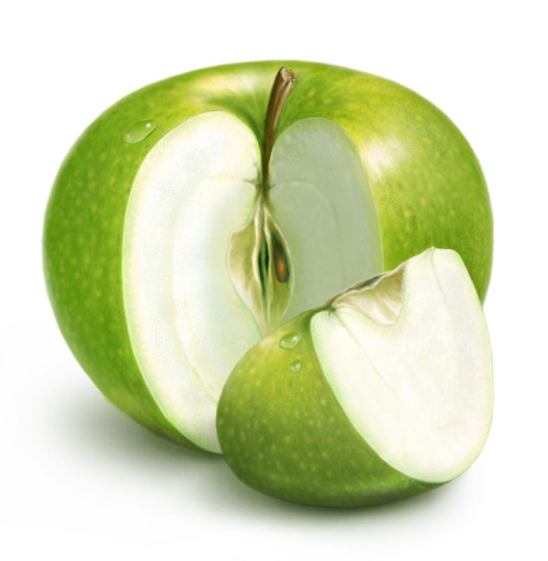Спа-массаж с помощью яблок