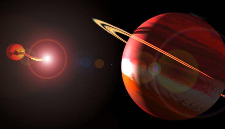 Найдена планетная система у катаклизмической двойной звезды