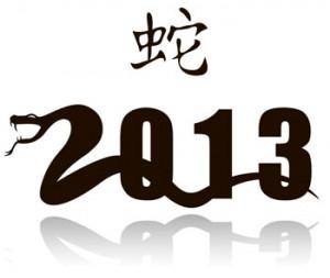 Новый год 2013: Год змеи