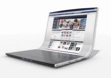 Rolltop – концепт сворачивающегося ноутбука.