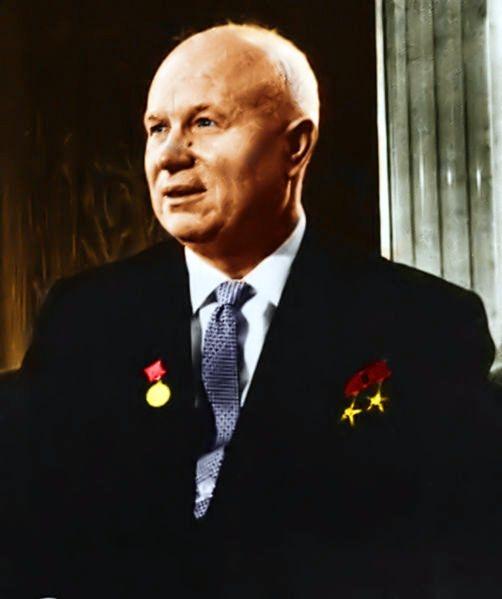 28 сентября 1953 года Никита Сергеевич Хрущёв избран Первым секретарём ЦК КПСС