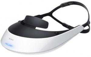 Компания Sony представила новую модель видео-очков HMZ-T2