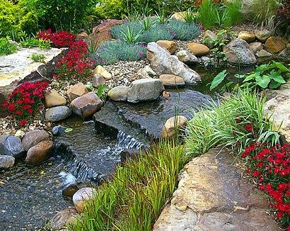 Как сделать ручей в саду для дачи